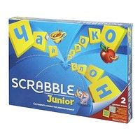 Фото Настольная игра MATTEL Scrabble Junior (рос.) Y9736