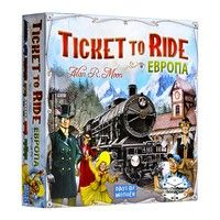 Фото Настольная игра Ticket to Ride: Европа 4620011810328