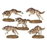Фото Миниатюра Warhammer 40k Space Wolves Fenrisian Wolf Pack 99120101092