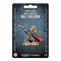 Фото Миниатюра Warhammer 40k Space Wolves Wolf Lord Krom 99070101020