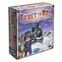 Фото Настольная игра Hobby World Ticket to Ride: Северные Страны 1702